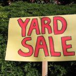 Yard Sale sau reciclarea gardrobei