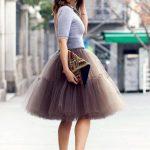 Fusta de tul / tutu – manevra vestimentara de primavara