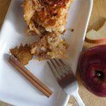 Prajitura de lenesi cu mere si gris