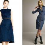 Rochia din denim – manevra vestimentara de primavara