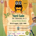 Yard Sale 20-21 august @ Jacques Pot