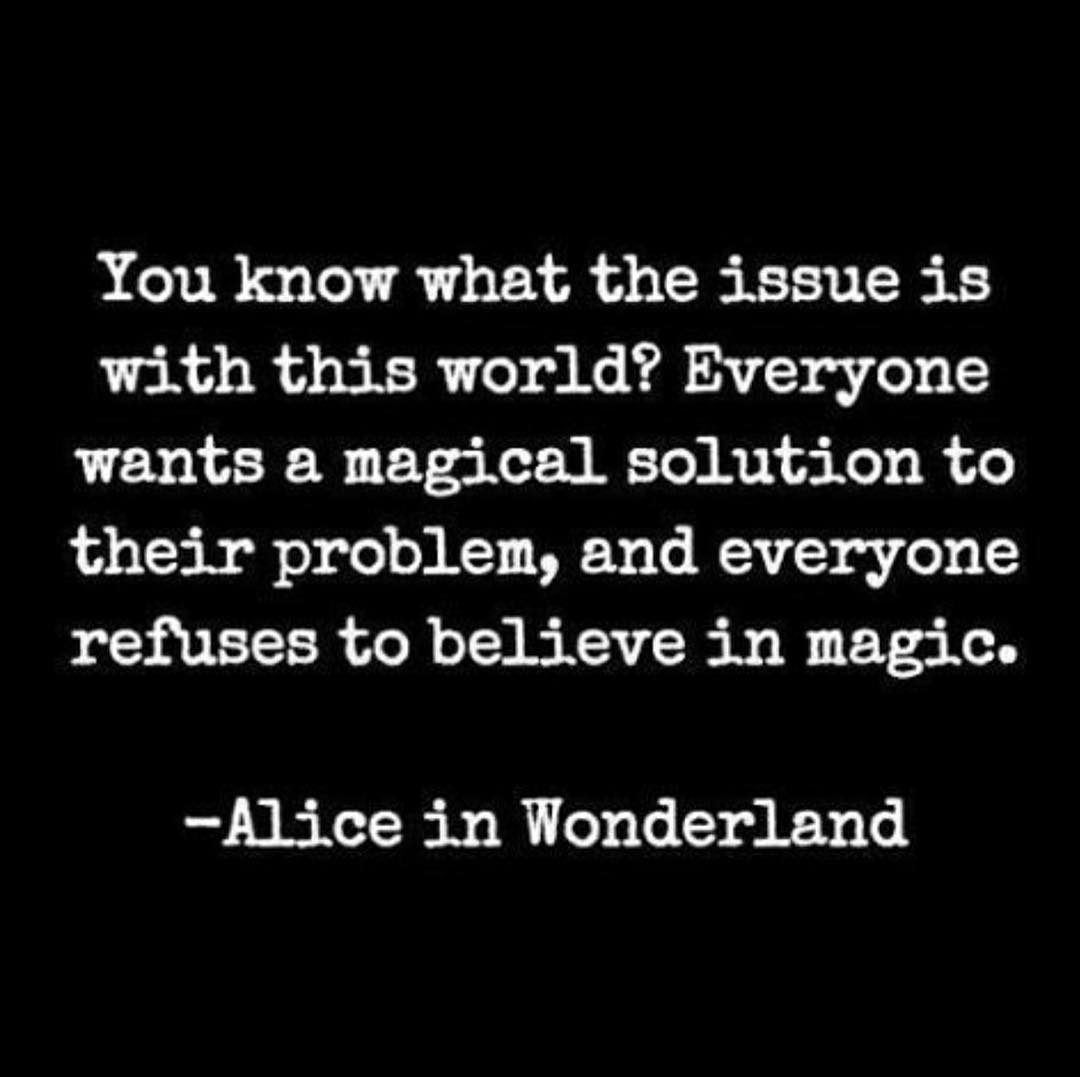 Magic magicexists believe aliceinwonderland faithful