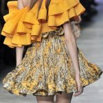 Volane – manevra vestimentara de vara