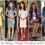 Dresurile – cum le purtam cu stil